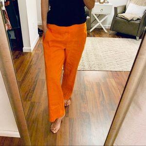 Cartonnier Orange Crop Pants Size Small